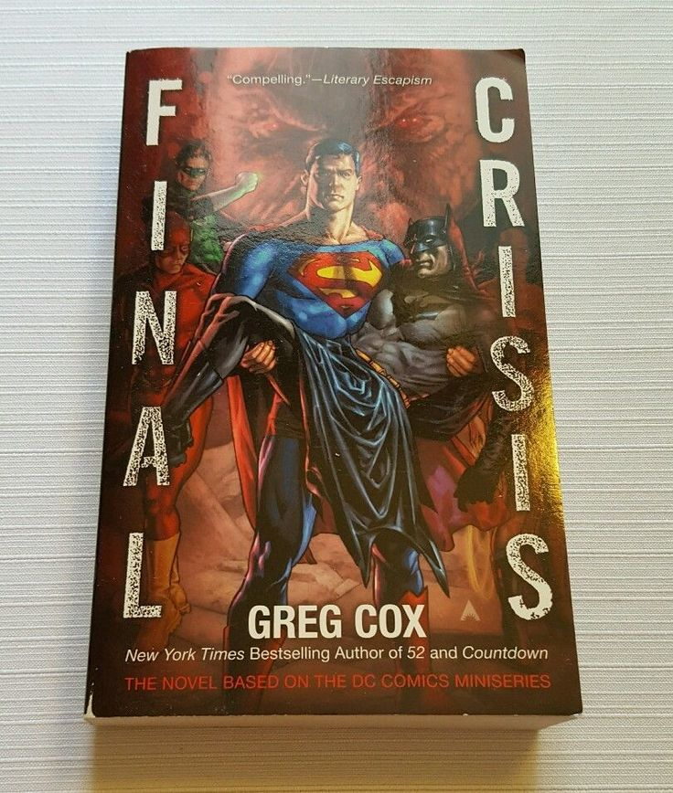 Final Crisis by Greg Cox (2011, Paperback) in Books, Fiction & Literature | eBay