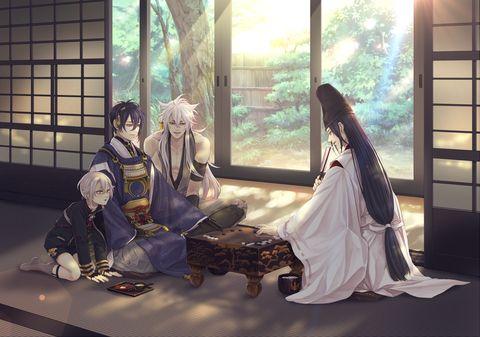 Jiji, Kogi, Hotarumaru— and Abe no Seimei?!!!