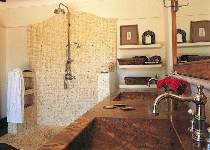 Construir una ducha de obra a minha casa na praia - Azulejos para duchas de obra ...