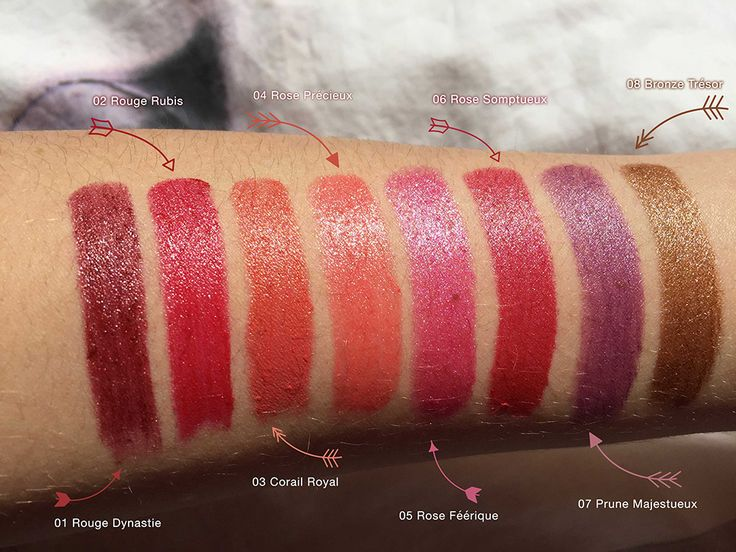 Les rouges à lèvres Adopt by Réserve Naturelle - Mllewondermel