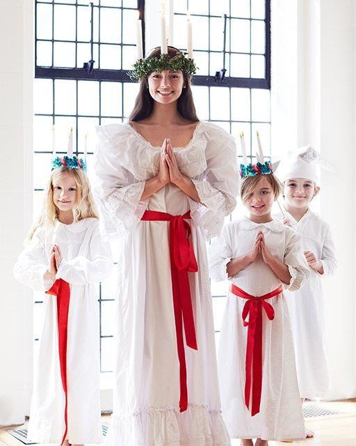 Santa Lucia Day Celebration + Free Crown Printables