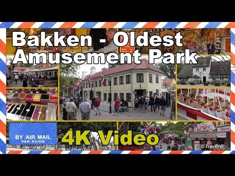 Bakken - World´s Oldest Amusement Park - Dyrehavsbakken - Copenhagen Attractions - 4K - YouTube