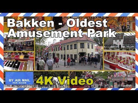 Bakken - World´s Oldest Amusement Park - Dyrehavsbakken - Copenhagen Attractions - 4K - YouTube
