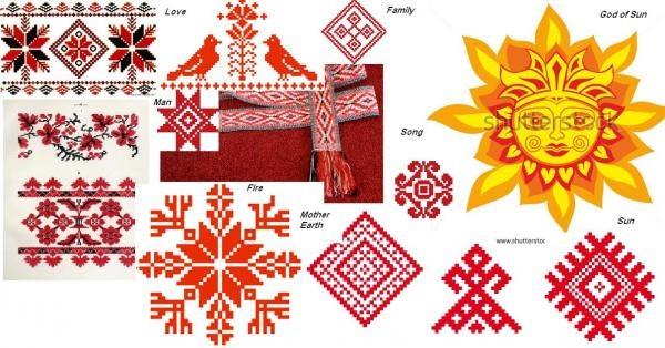 Belarus National Ornaments