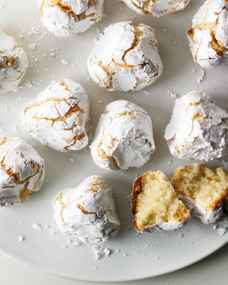 Pinched Orange Macaroons Recipe | Martha Stewart Living — Your new favorite treat is a click away.