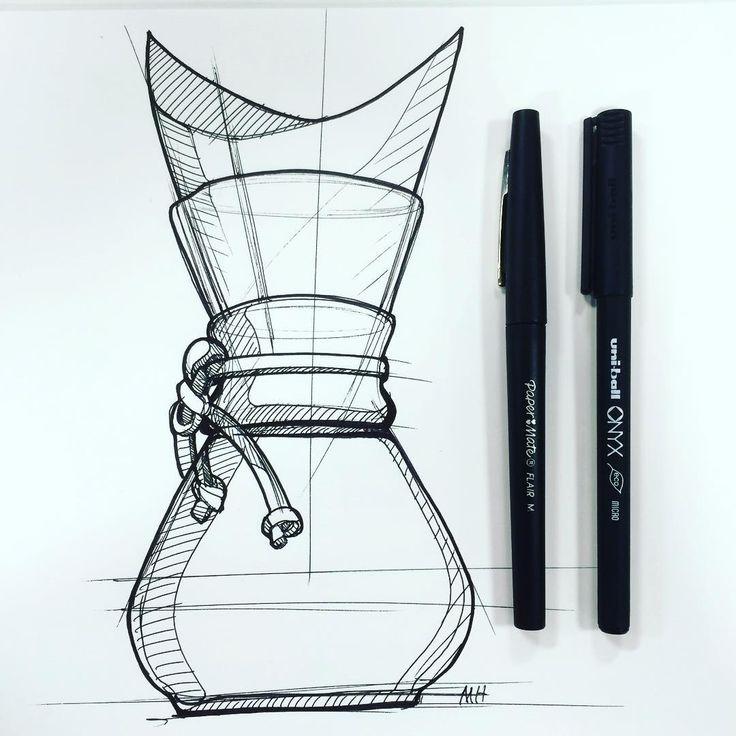 Sketch by Marcus Hamilton on Instagram