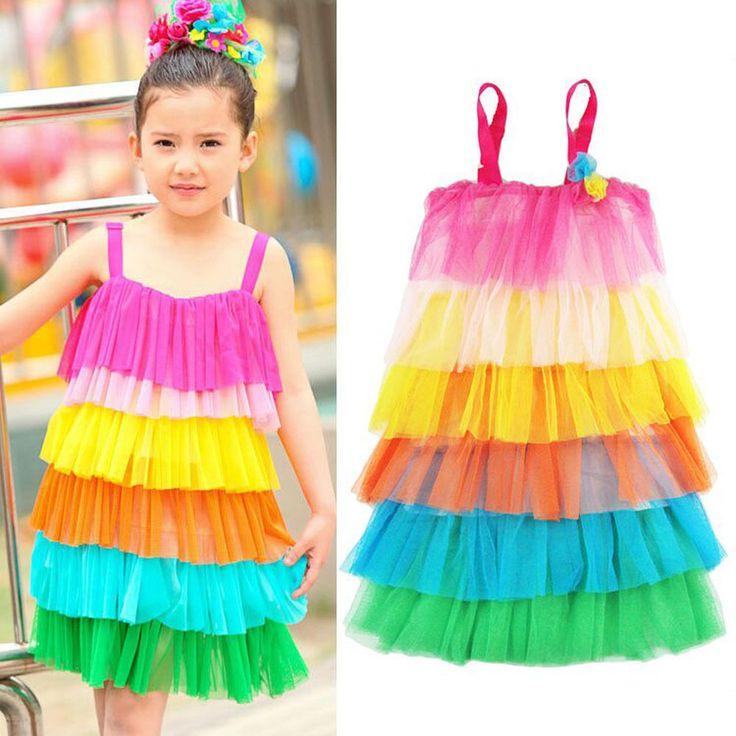 Sequins Tutu Dress Flower Girl Bow Princess Gown For Kids Birthday Wedding Party | eBay