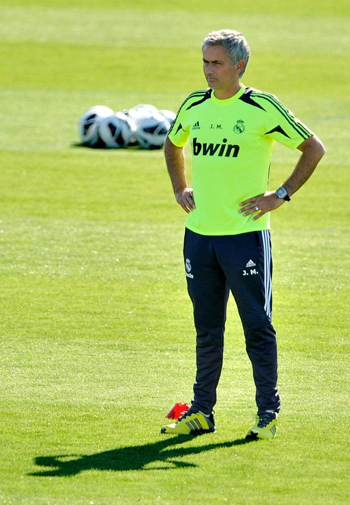 Jose Mourinho Photo - Real Madrid Training session