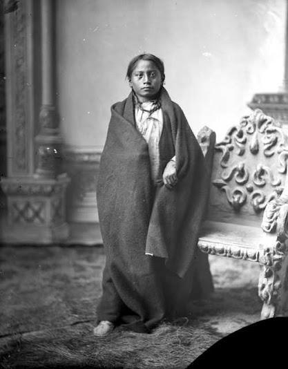 Crowfoot (the son of Sitting Bull) - circa 1885