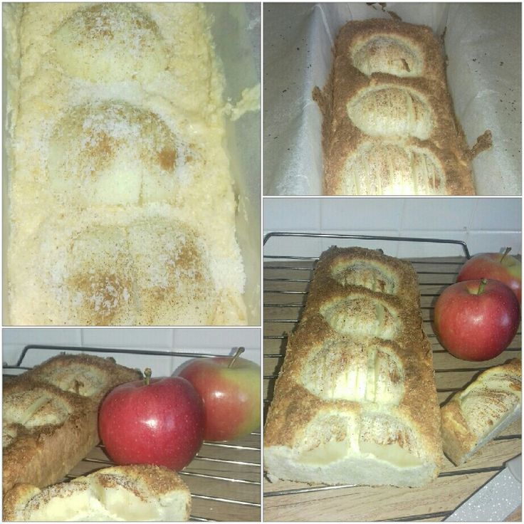 Ciasto z mąki  kokosowej   Z jabłkami  :) Dla cukrzyków  i  IO