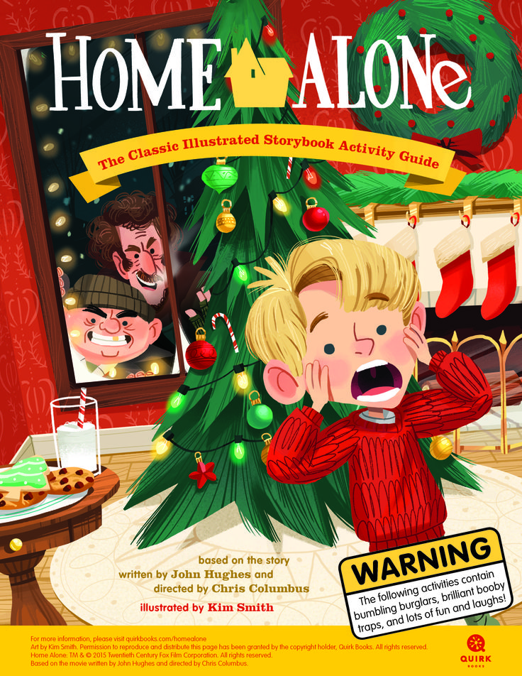 Home Alone: The Classic Illustrated Storybook Activity Guide #homealone #activity