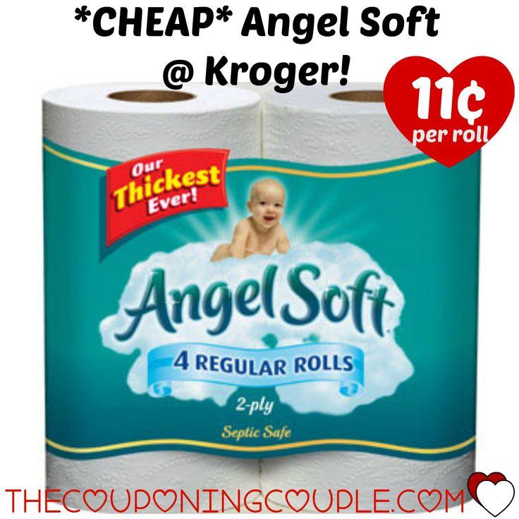 angel soft tissue stock
