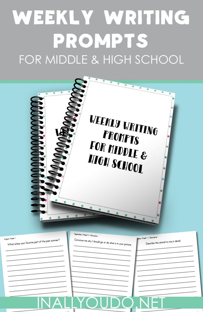 daily writing prompts for middle school One of the best ways to ensure you stick with a daily writing habit is to have plenty of prompts on hand  ideas for using your teen september writing prompt calendar  calendar, free printables, high school, middle school writing prompts, september, teens, writing prompts leave a reply cancel reply your message post comment name.