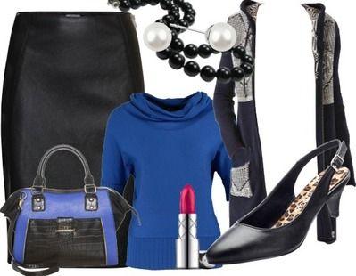 """Tenue Décontractée """"Jupe crayon"""" composé par Freewoman sur stylefruits.fr. Vous pouvez commander cet article directement dans nos boutiques partenaires !"""