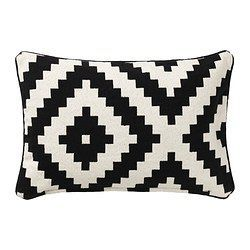 ($10)  - IKEA - LAPPLJUNG RUTA, Cushion cover, The zipper makes the cover easy to remove.