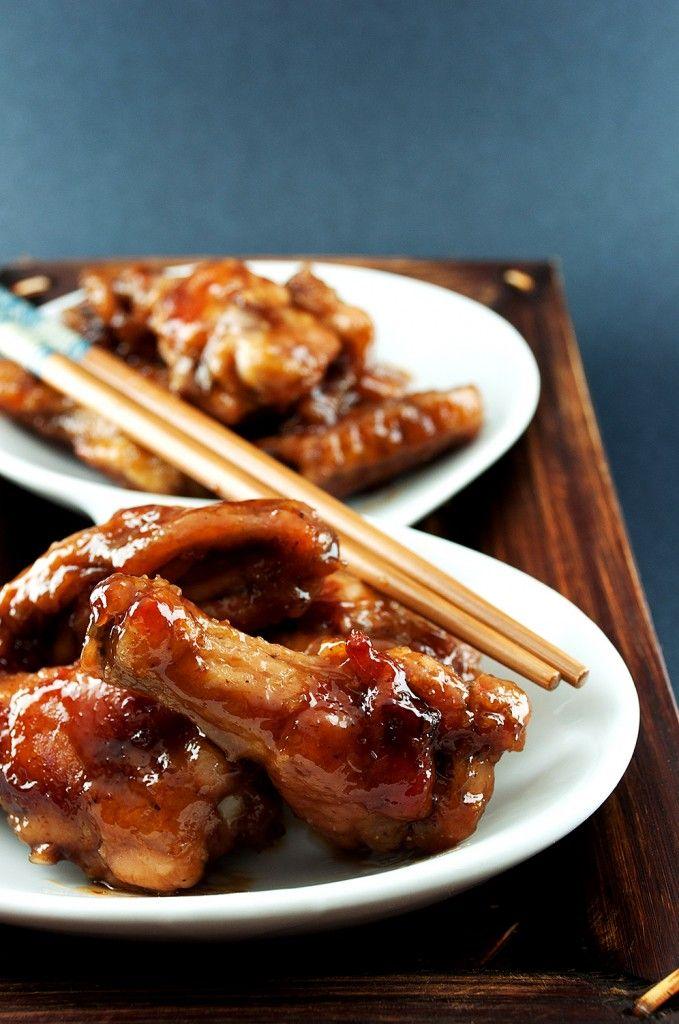 ALITAS DE POLLO AL ESTILO ASIATICO (asian chicken wings)