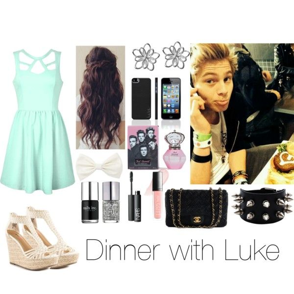 Dinner with Luke! hope u like it. Made by @tatigardner