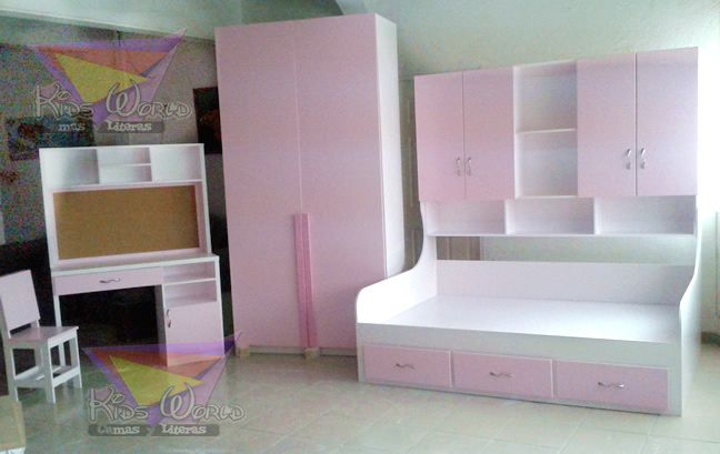 18 best images about muebles nena on pinterest 98 un - Camas para nina ...