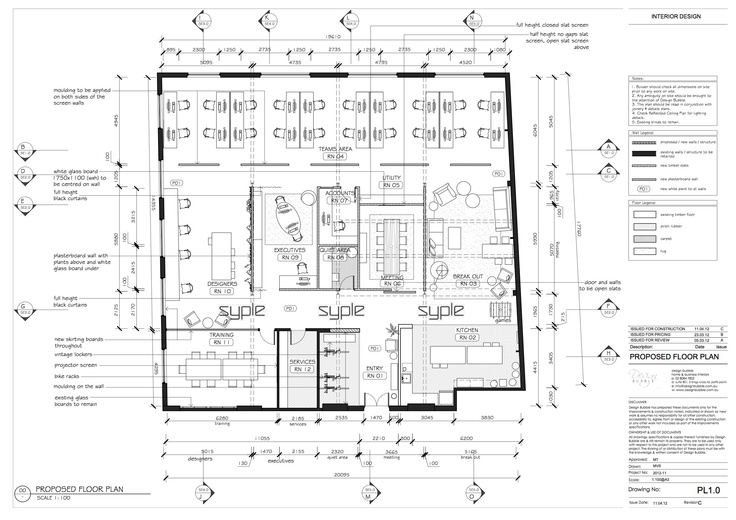 Office Layout Plan