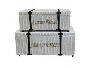 Proutěná truhla Summer Breeze L