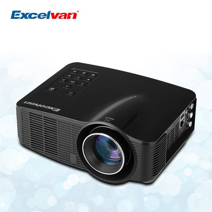 Hot Excelvan LED3018 Portable LED WiFi Android Projector 640*480 AV/HDMI/USB/SD Home Theater For Gaming/Meeting Projector //Price: $156.55//     #storecharger