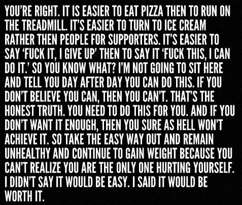 Ouch.Truths Hurts, Remember This, Self Motivation, Quote, Pep Talk, Weightloss, Worth It, Weights Loss, Fit Motivation