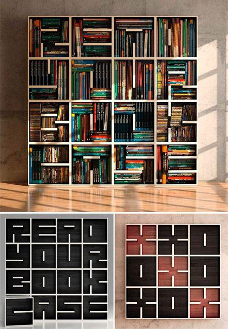 10 Unique Bookshelves - Uphaa.com