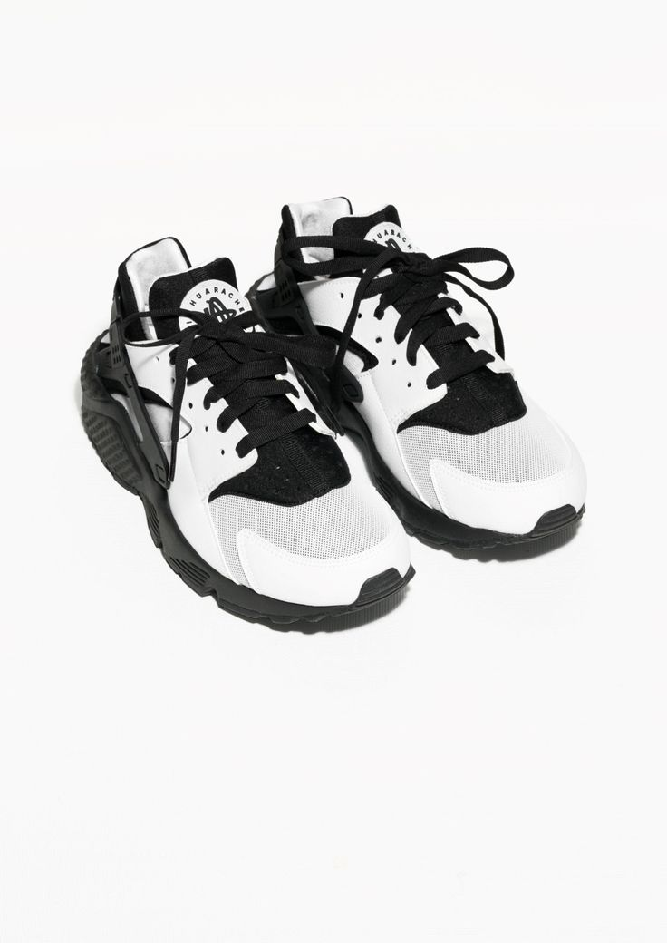 Nike Air Huarache combines mesh, textile and synthetic leather for a sleek,  slightly retro design enhanced by an Air-sole unit for supreme, ...