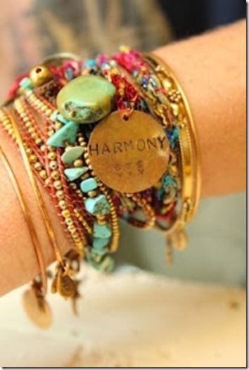 bracelets, harmony tag- It should also have a heart then it would be perfect