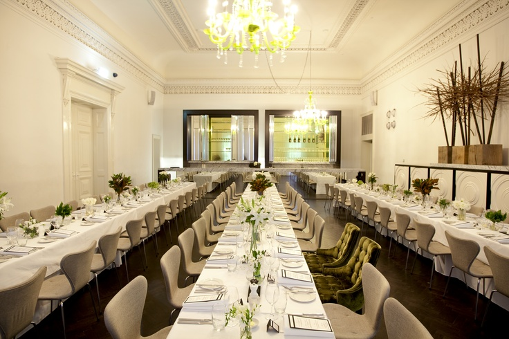 The Grand room at Comme looking beautiful for a wedding