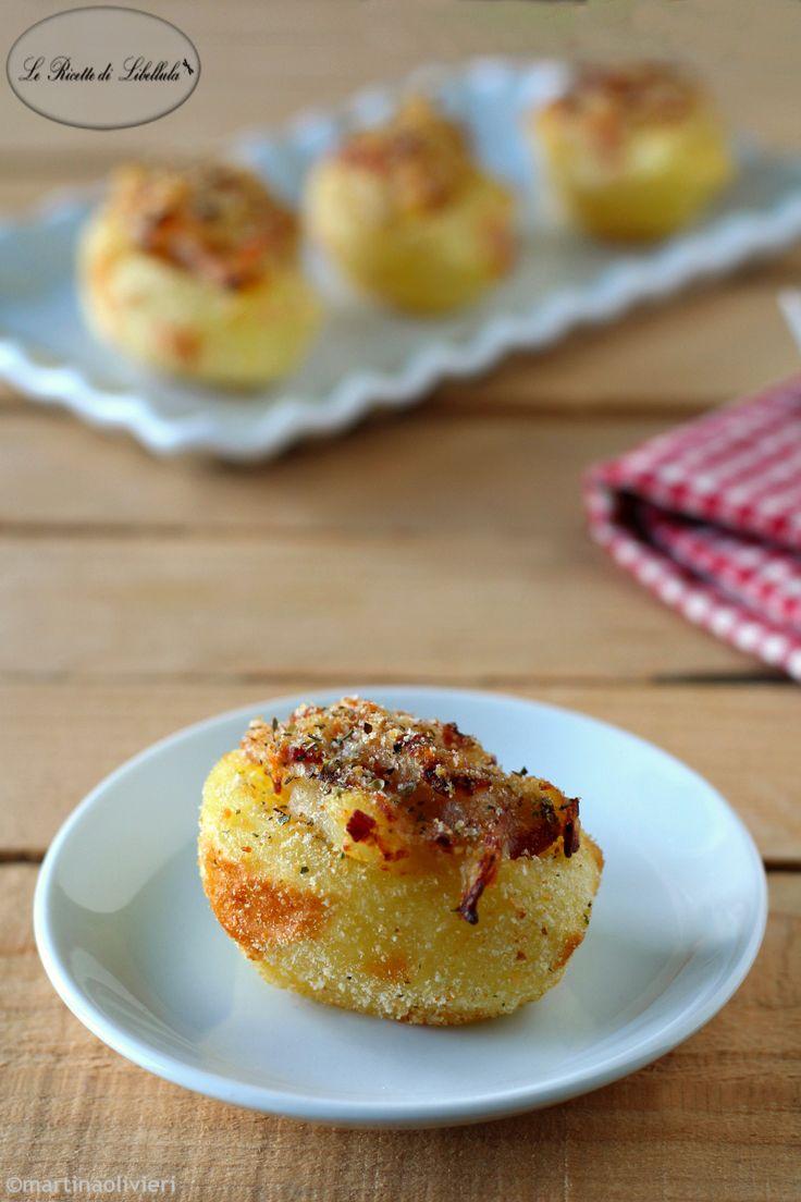 patate ripiene di speck al forno