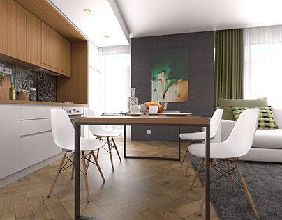 """Check out new work on my @Behance portfolio: """"Propunere concept apartament  - client Bucuresti"""" http://be.net/gallery/48946429/Propunere-concept-apartament-client-Bucuresti"""