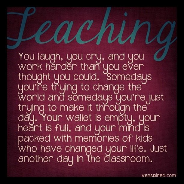 I Love You More Than Quotes: 25 Best Inspirational Thoughts For Teachers Images On