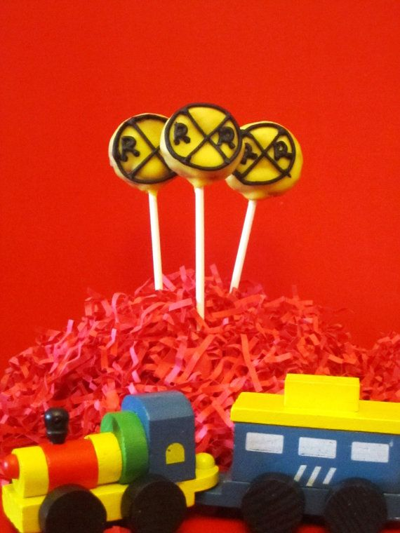 Train Cake Pops Etsy