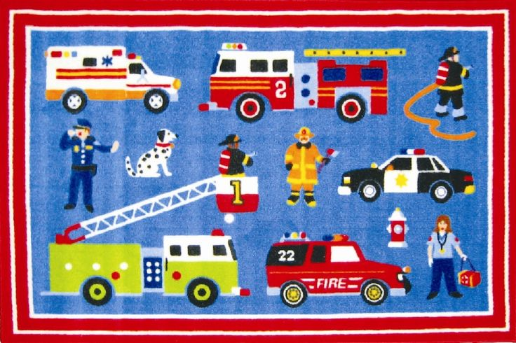 Fun Rugs Olive Kids Hero Kids Rug & Reviews | Wayfair