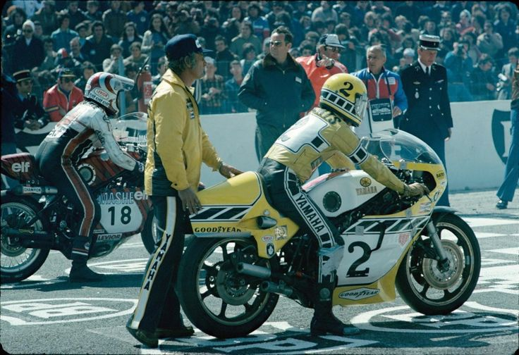 Kenny Roberts and Michel Rougerie (and Kel Carruthers