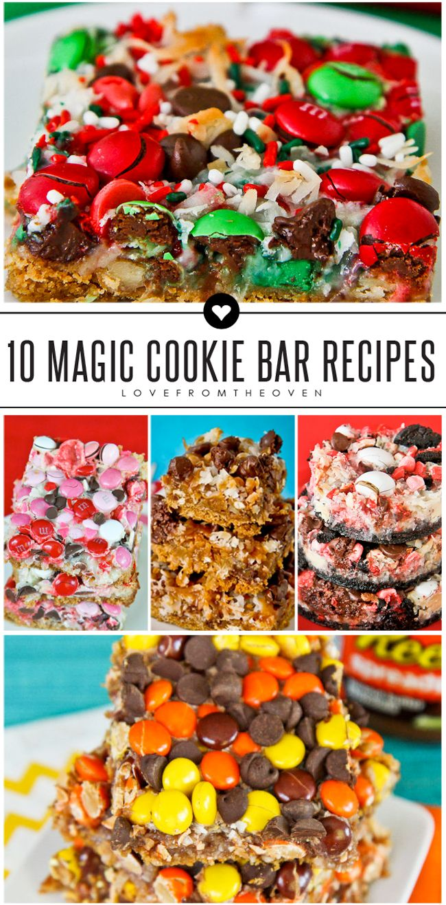 25 best ideas about magic cookie bars on pinterest for Bar food ideas recipes
