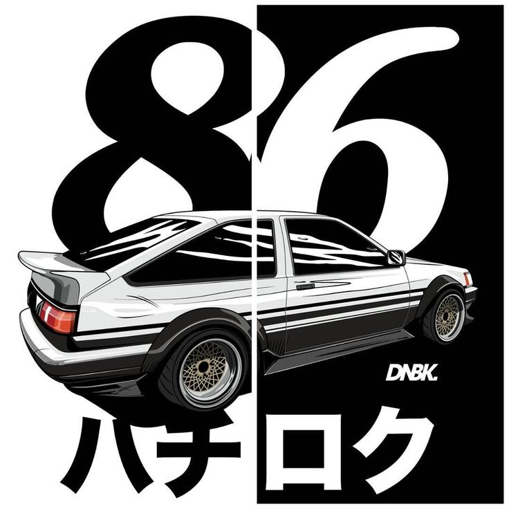 Hachiroku. Artwork and apparel available at dirtynailsbloodyknuckles.com Link in…