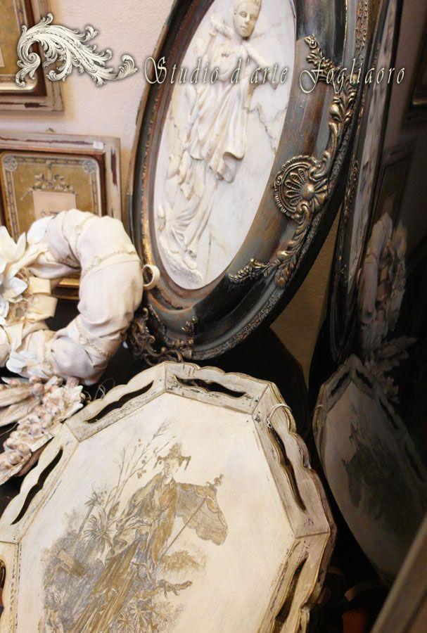 Creazioni www.fogliaorostudioarte.com di Manuela Lombardi e  Renzo Murtas