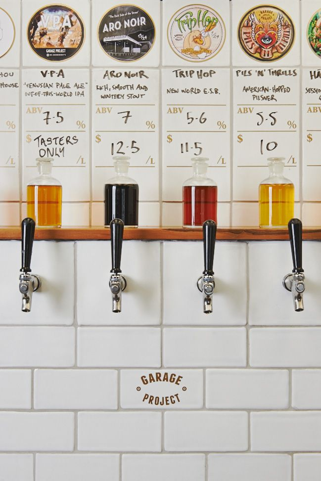 Garage Project, craft brewery in Wellington, NZ @mwoestehoff I fell like this is right up your alley! 생맥주집 or 칵테일바