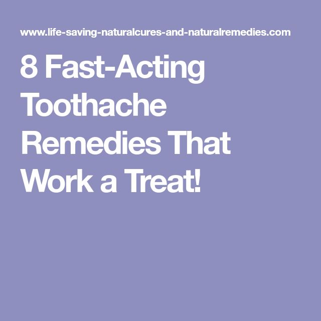8 Fast-Acting Toothache Remedies That Work a Treat!