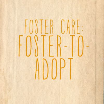 Fostering and adopting are things I've been thinking about for a while. This is a nice little article helping to outline the basics of fostering to adopt.