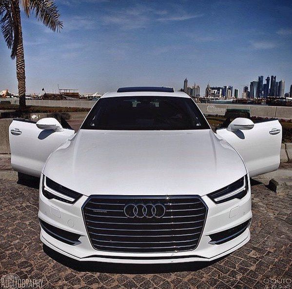 We love this white Audi A7. View one just like it at audinorthatlanta.com.