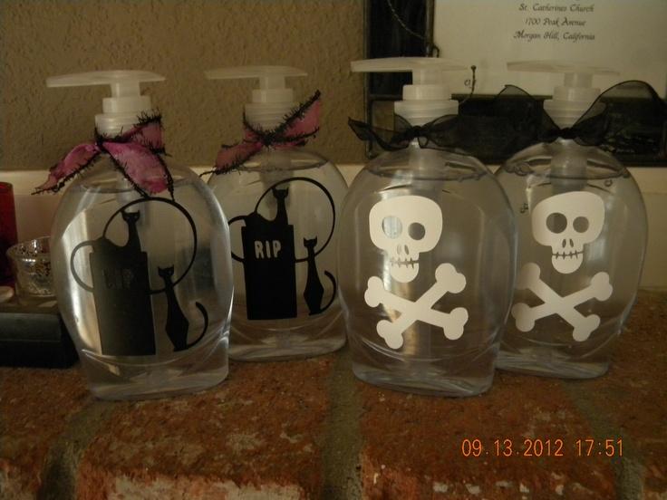 Cortinas De Baño Halloween:Halloween Hand Soap