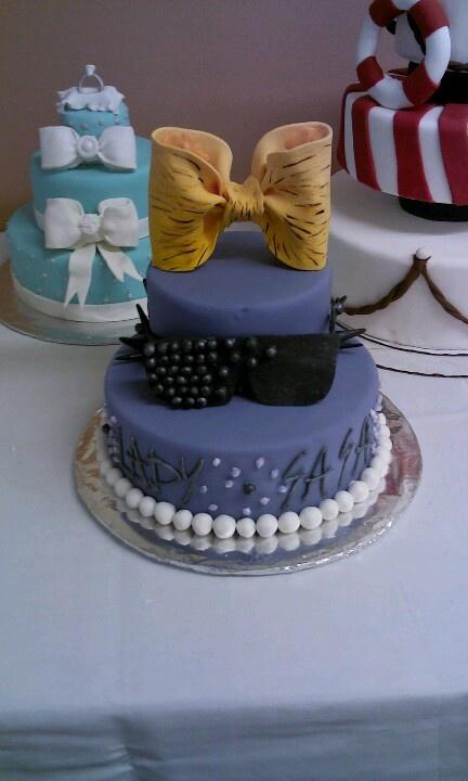 Lady Gaga Gumpaste Cake #cake #pastrylove