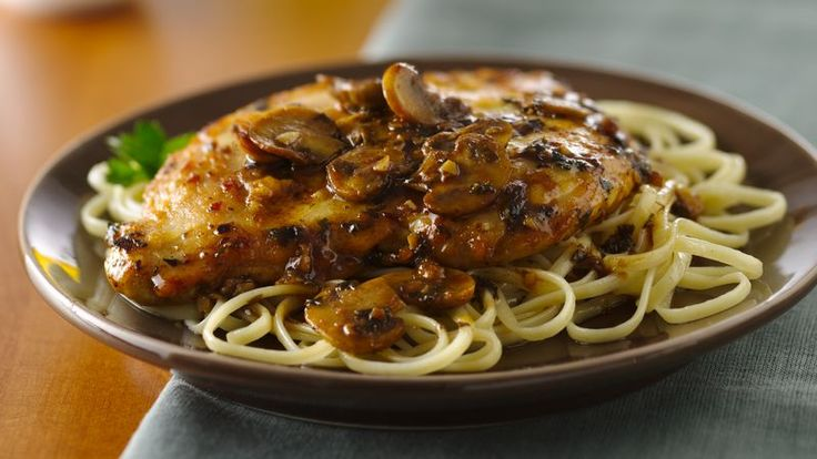 Savor a classic Italian chicken dish made with a classic dry Italian wine.