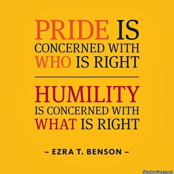 Quotes About Arrogance and Pride | Quotes About Arrogance | Quote About Ego 9: Pride is concerned with ...