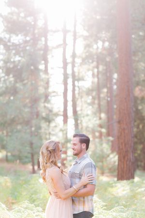 Fashionable bride by Abbey Lunt Photography for Bisou Bride - Big Bear Lake