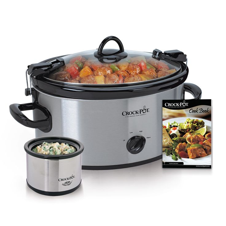82 best products images on pinterest crock pot slow cooker cook carry manual 65 qt slow cooker with little dipper food warmer and bonus cookbook fandeluxe Choice Image