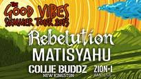 More Info AboutRebelution and Matisyahu - The Good Vibes Summer Tour